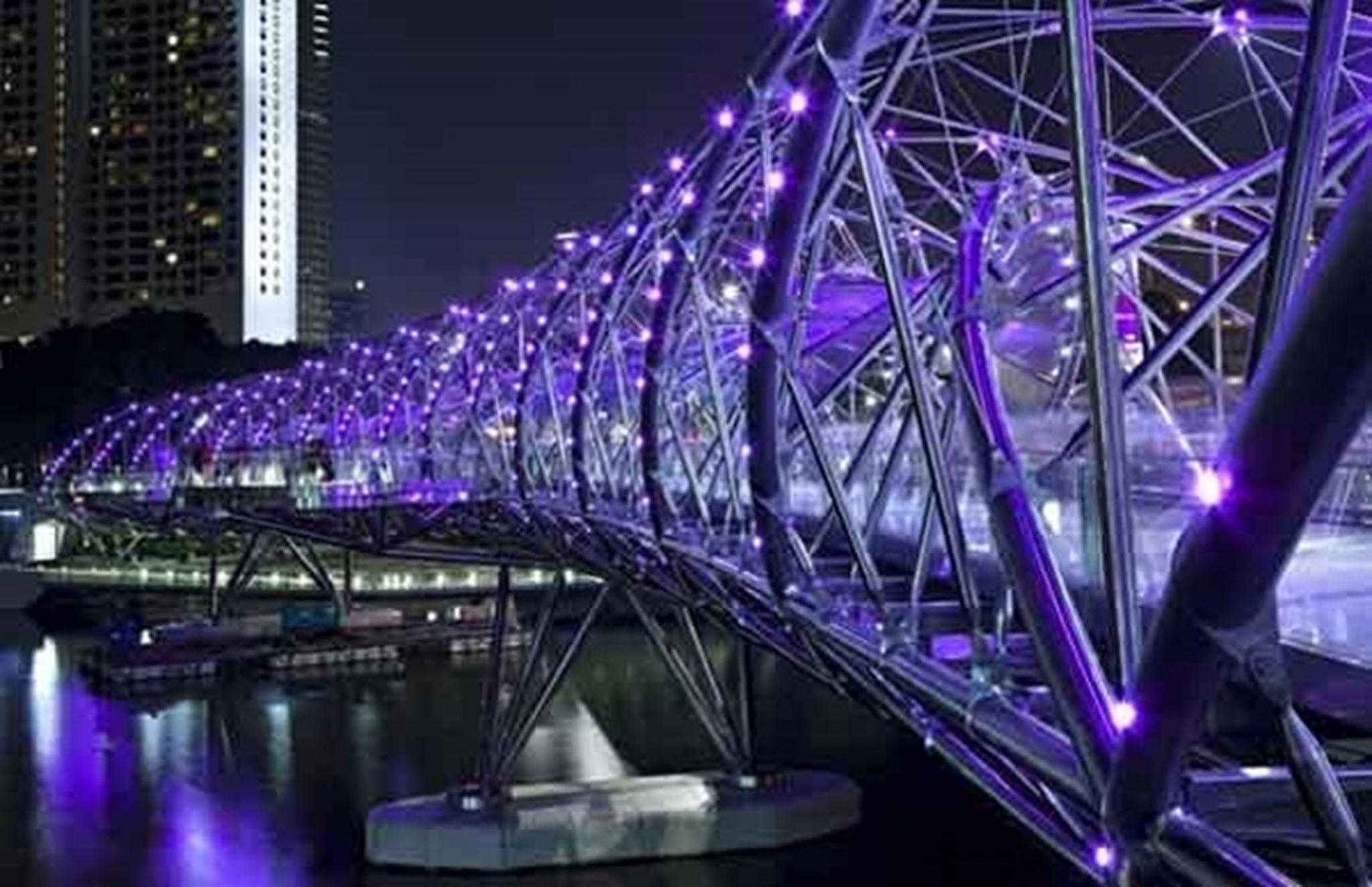 Cầu Helix, Singapore