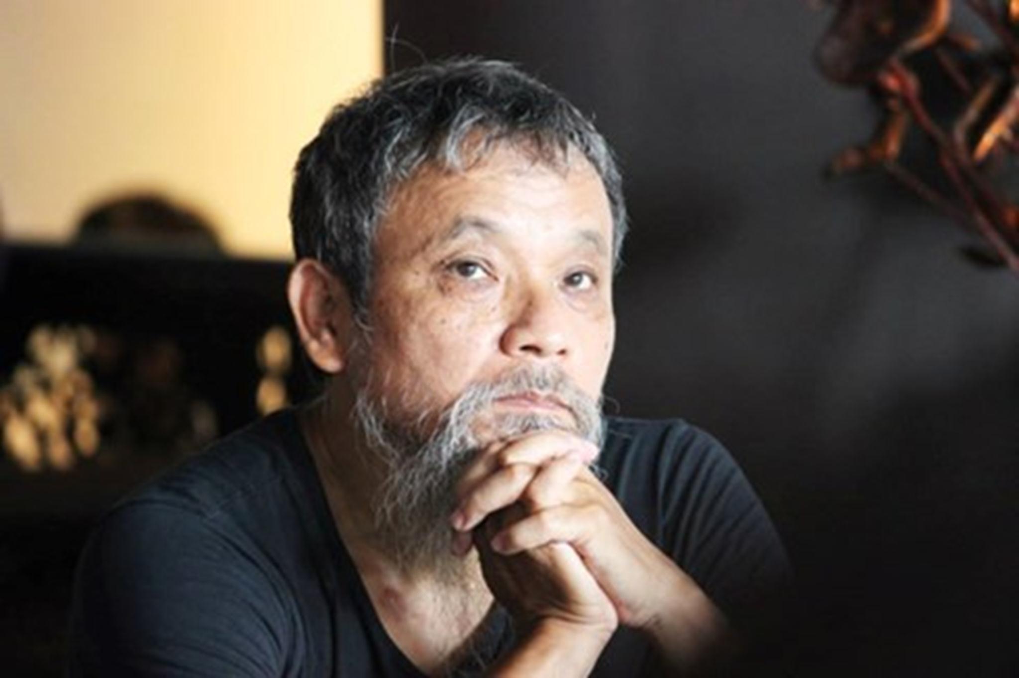 Họa sĩ, nhà phê bình Phan Cẩm Thượng. Ảnh: Nguyễn Đức Bình.