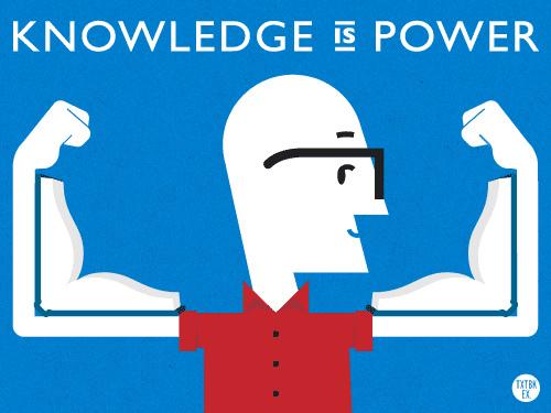 Tri thức là sức mạnh - Ảnh (C) Internet