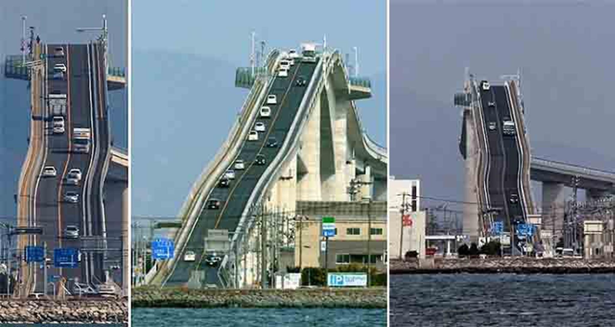 Cầu Eshima Ohashi, Nhật Bản