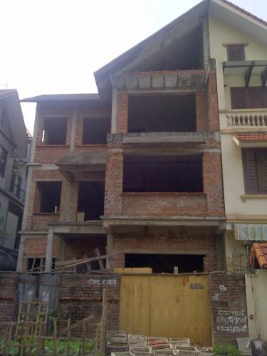 Hiện trạng căn biệt thự chưa cải tạo năm 2013