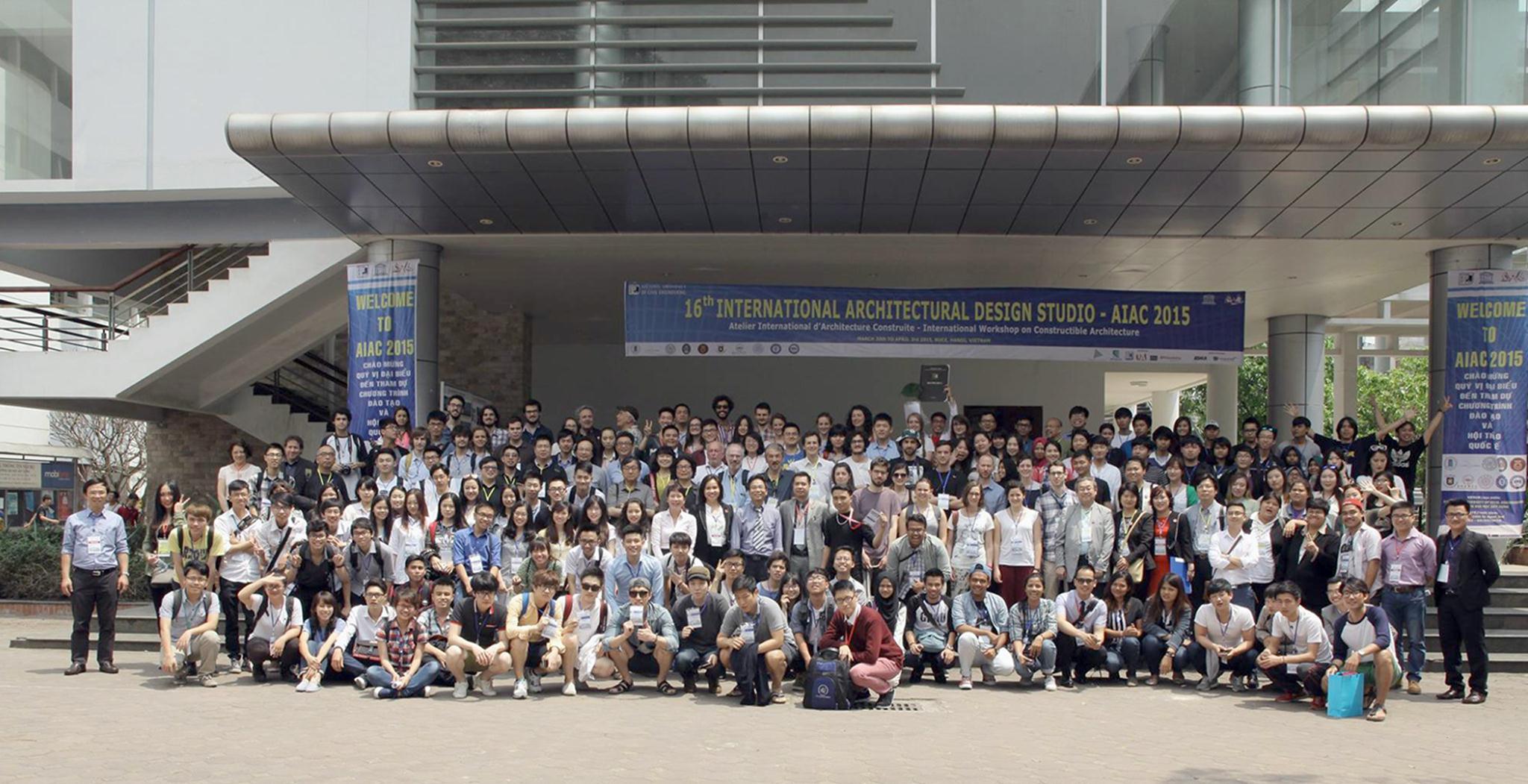 Hình ảnh AIAC2015 tại Hà Nội (Ảnh: NUCE)