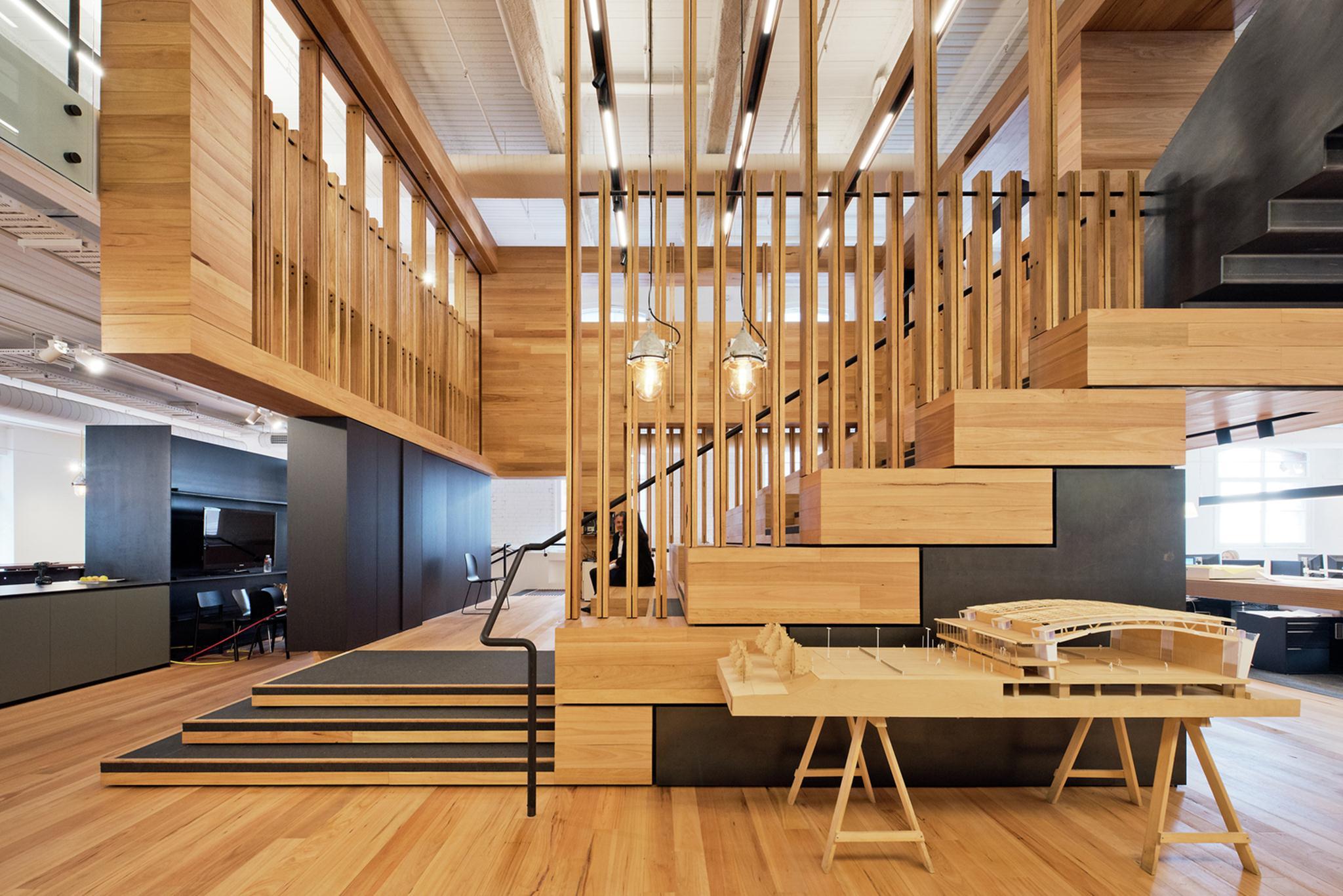Box Office; Australia / Cox Rayner Architects. Ảnh © WAF