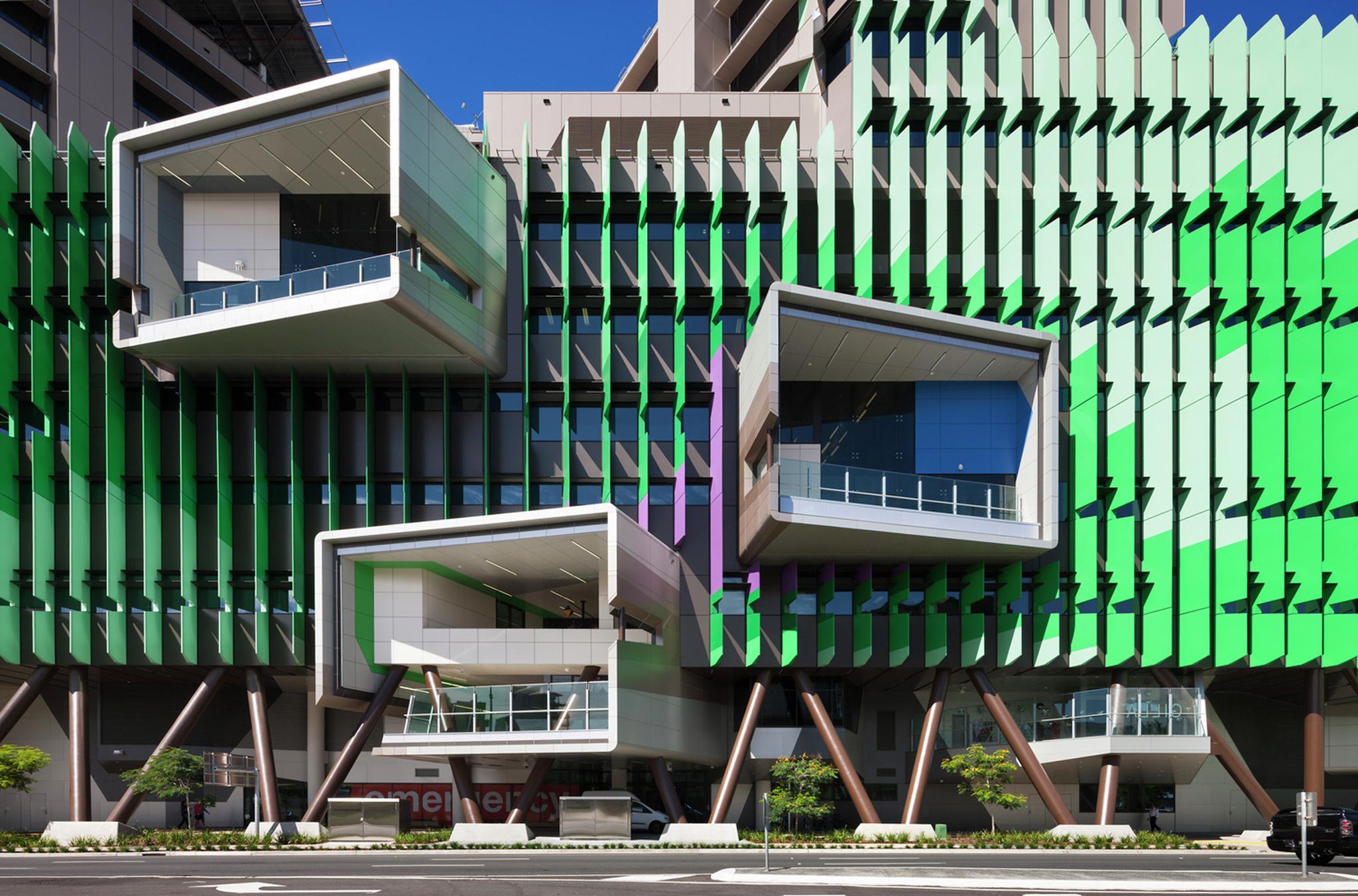 Viện Nhi Lady Cilento; Australia / Lyons, Ảnh © WAF