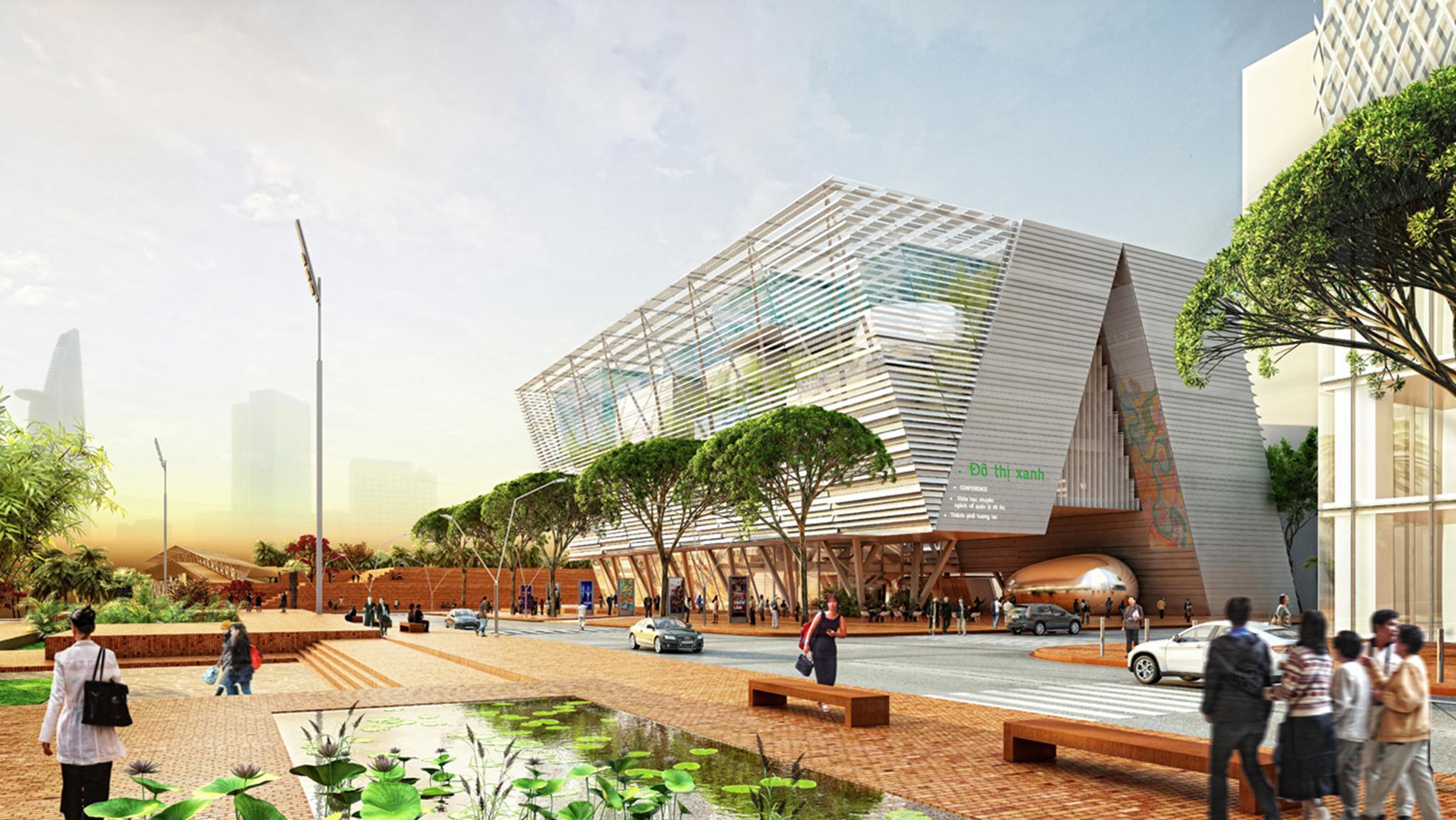 Trung tâm Triển lãm Quy hoạch Thành phố
