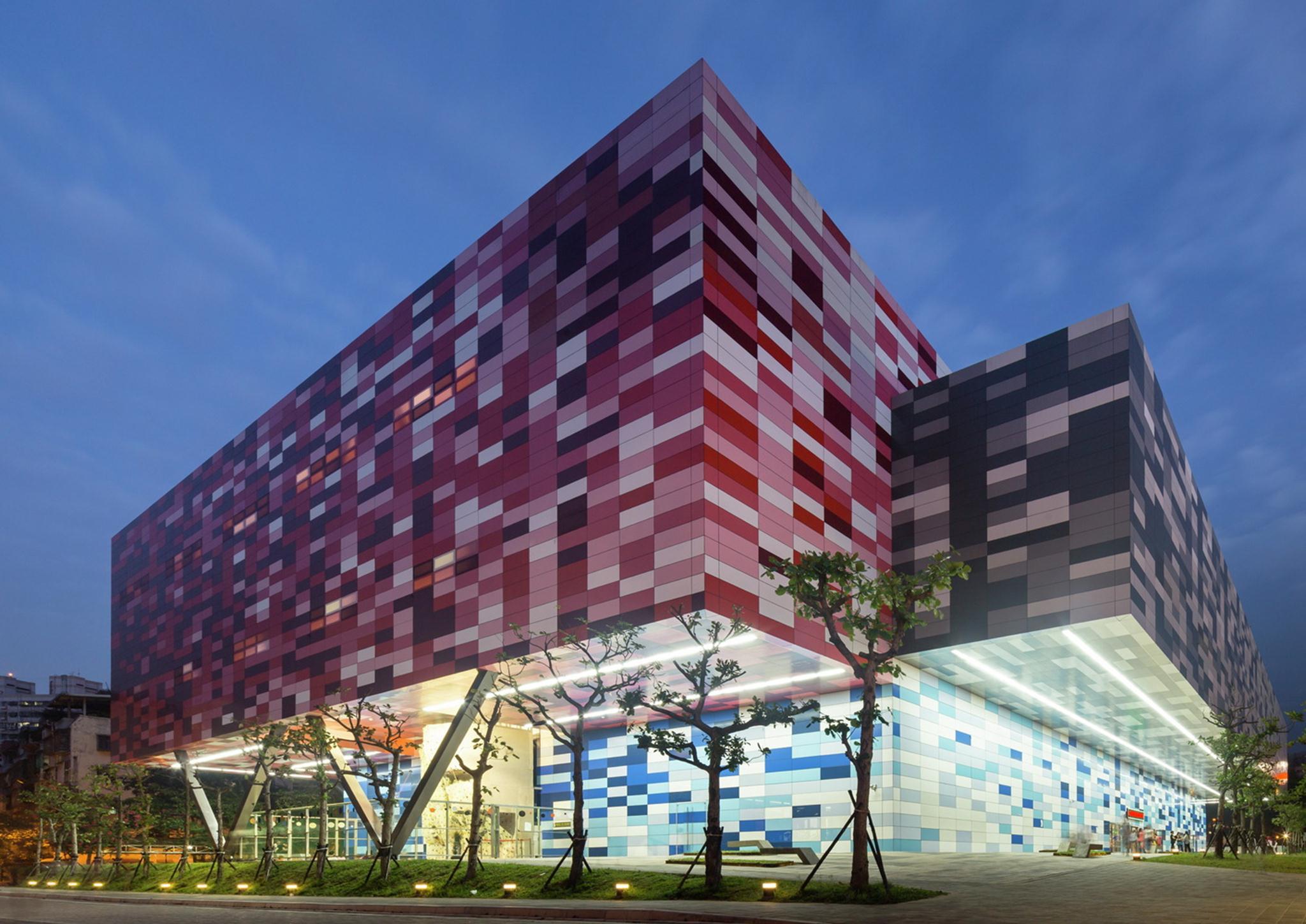 Trung tâm thể thao cộng đồng Tucheng; Đài Loan / QLAB, Ảnh © WAF