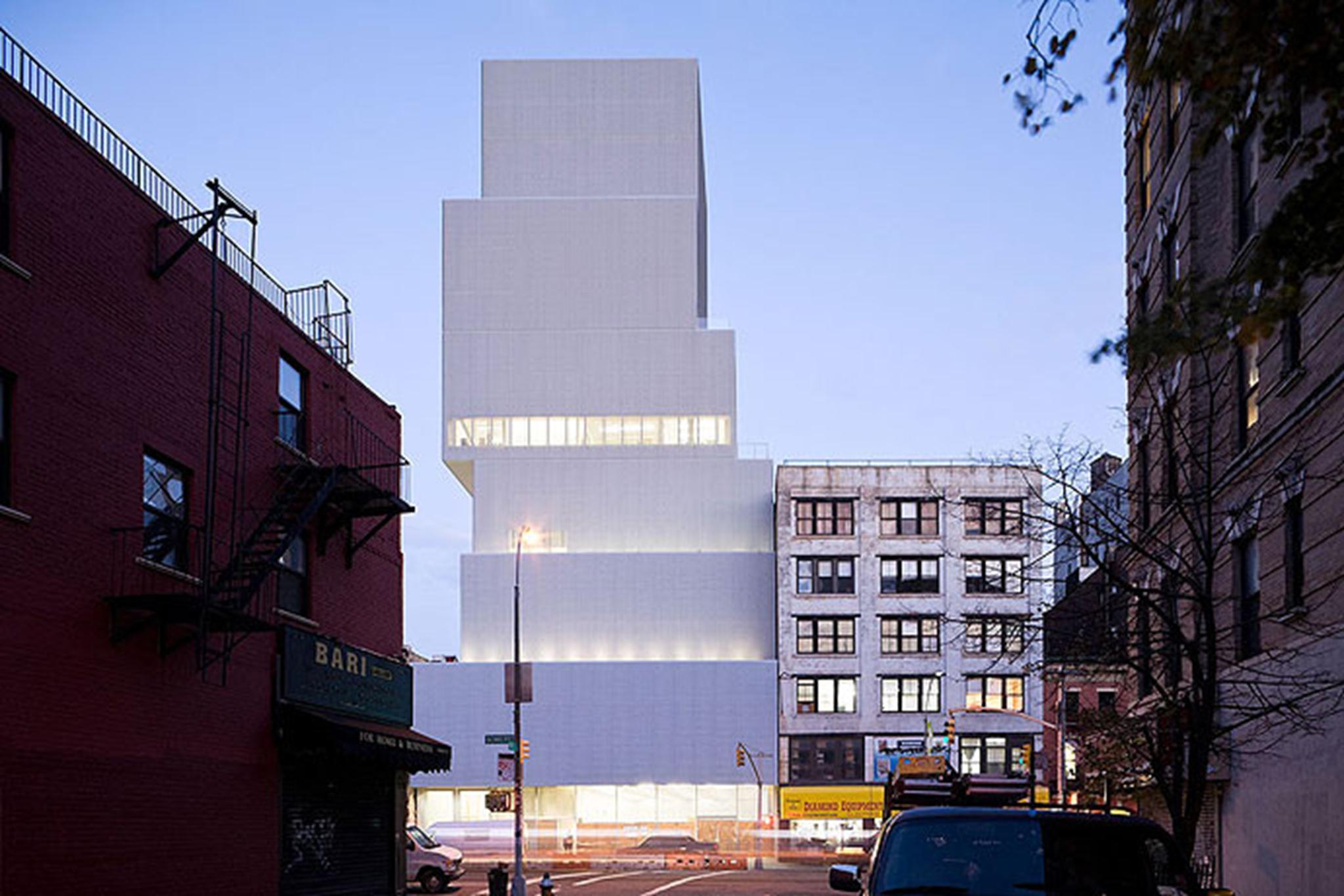 Bảo tàng Nghệ Thuật Đương Đại, New York. Ảnh © Iwan Baan