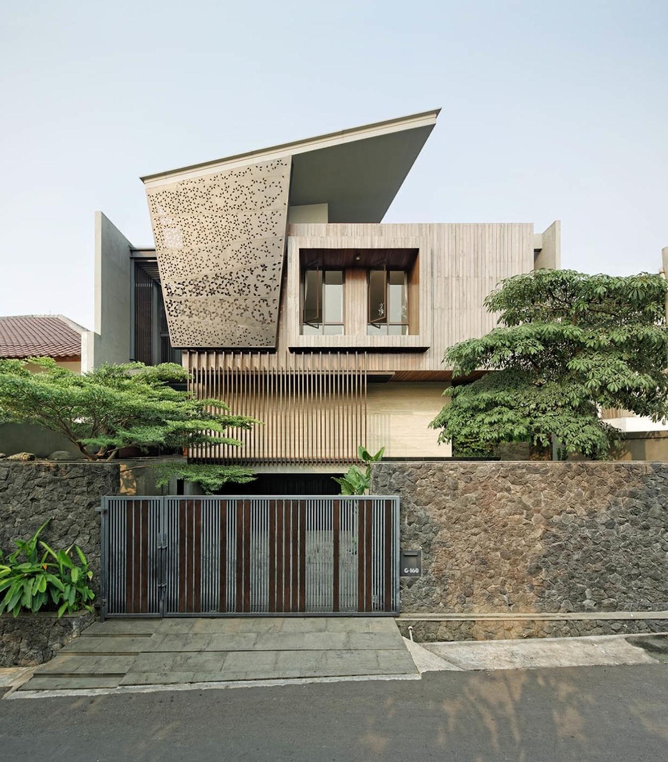 Ben House được thiết kế bởi kiến trúc sư Gerard Tambunan & Rudy Kelana.