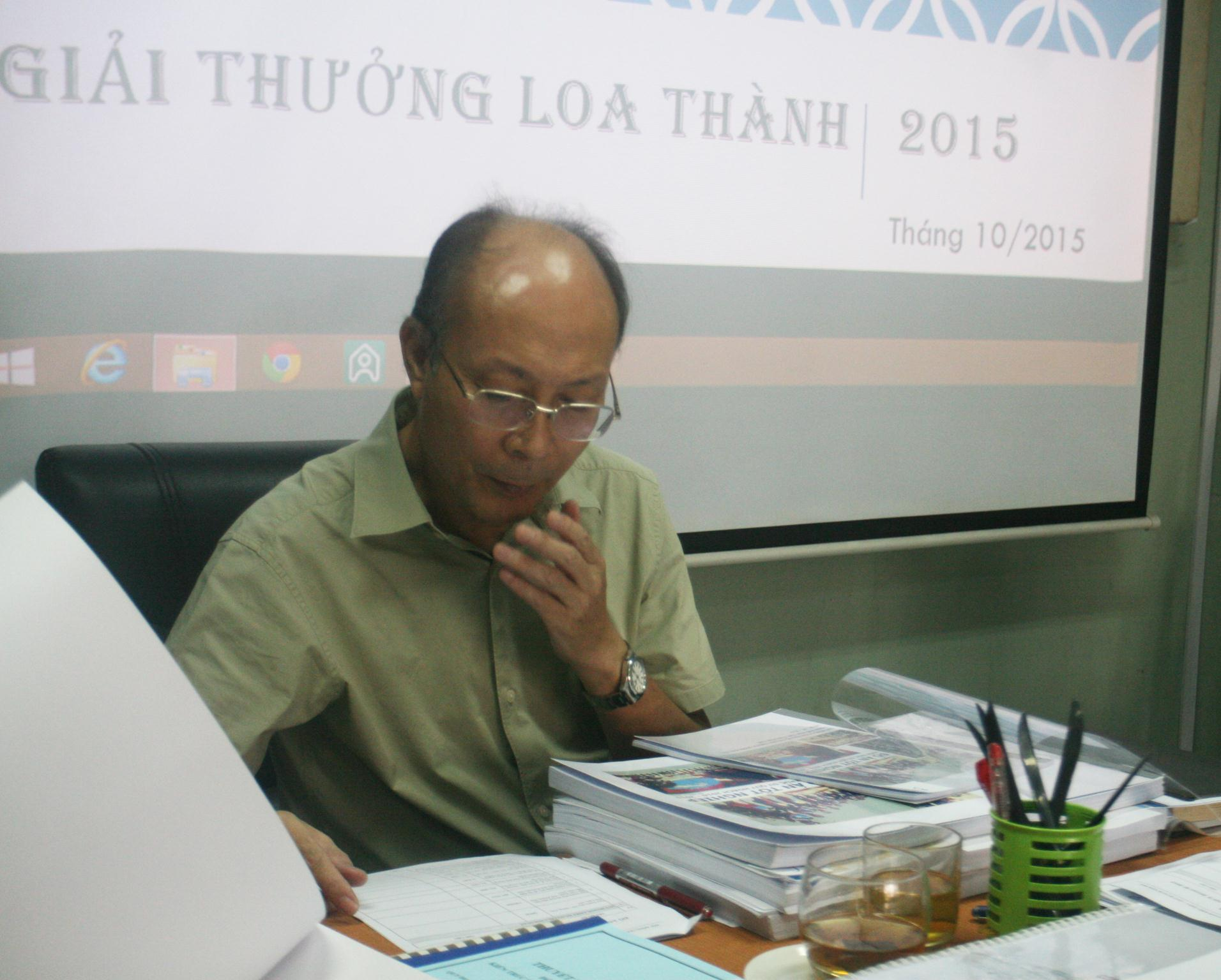 PGS. KTS Nguyễn Quốc Thông - Phó Chủ tịch Hội Kiến trúc sư Việt Nam làm Chủ tịch Hội đồng