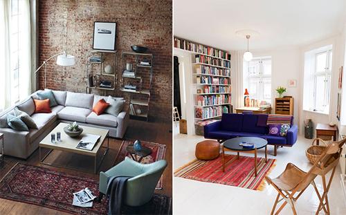 Chiếc thảm đẹp chưa chắc phù hợp với không gian nhà bạn. Ảnh:Stylebyemilyhenderson.