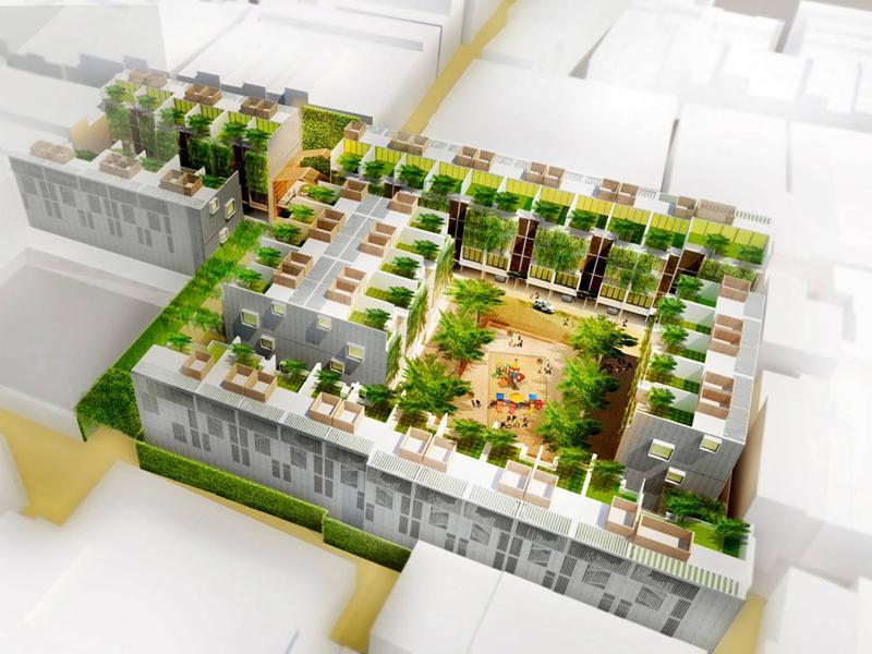 """Dự án khu dân cư """"Tái cân bằng"""" quận Tân Bình"""
