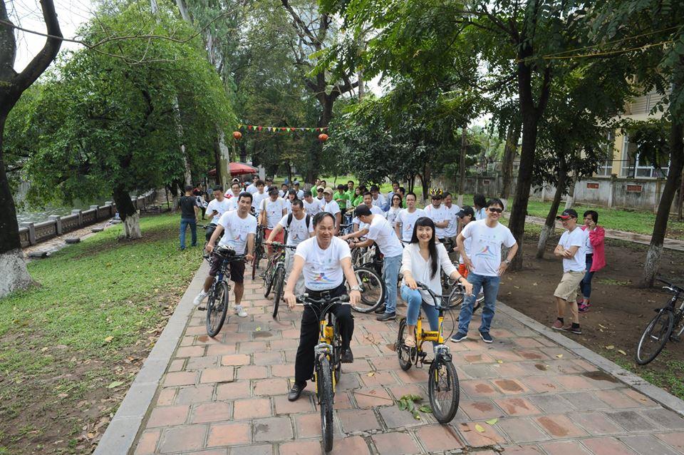 Chủ tịch Hội KTSVN - Nguyễn Tấn Vạn tham dự hành trình