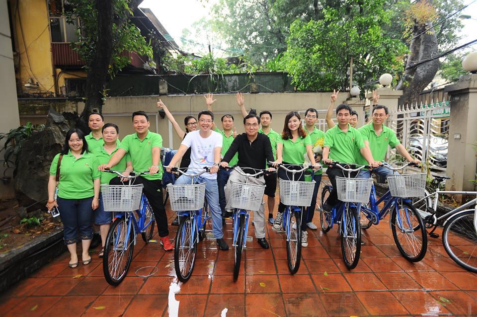 PCT Hội KTSVN - KTS Nguyễn Văn Hải khởi động hành trình đạp xe