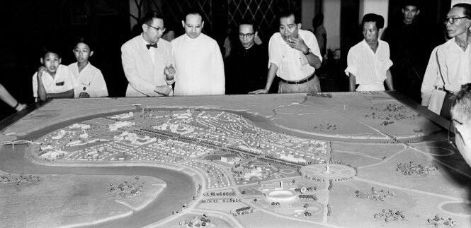 Khu Thủ Thiêm được quy hoạch từ thời Ngô Đình Diệm (1955-1963) nhưng không thực hiện được - Ảnh tư liệu