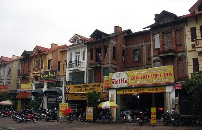 Phố Hà Nội với sự lộn xộn của các mặt tiền công trình thì cần thiết lắm cần có một thiết kế đô thị cho các tuyến phố. (C) VTC
