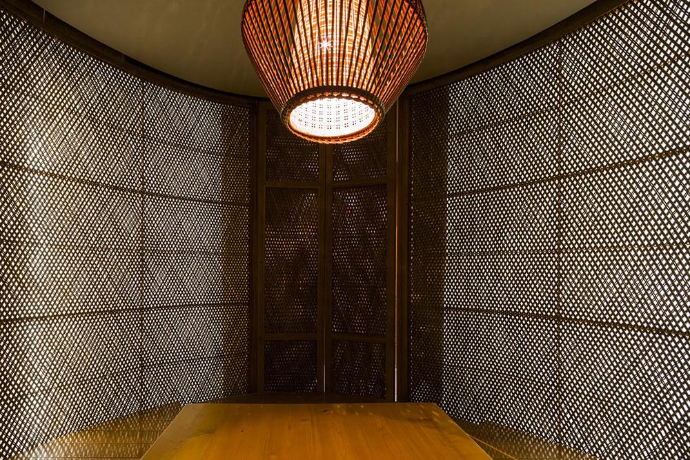 Nội thất phòng ăn tầng 1