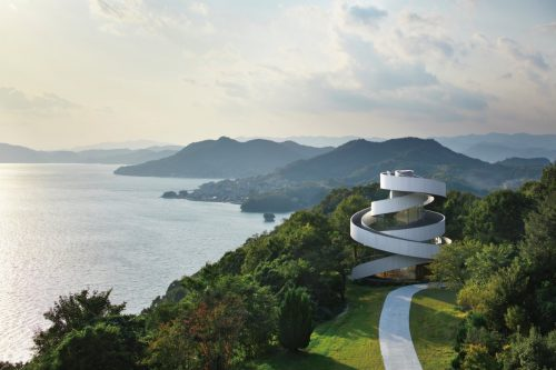 in-onomichi-japan-couples-frequently-turn-to-the-ribbon-chapel-for-their-wedding-ceremonies-and-understandably-so
