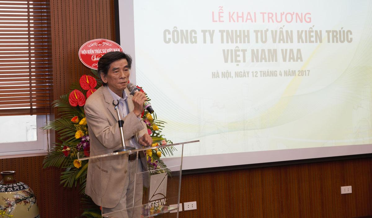 KTS. Bùi Quý Ngọc - Tổng giám đốc công ty VAA