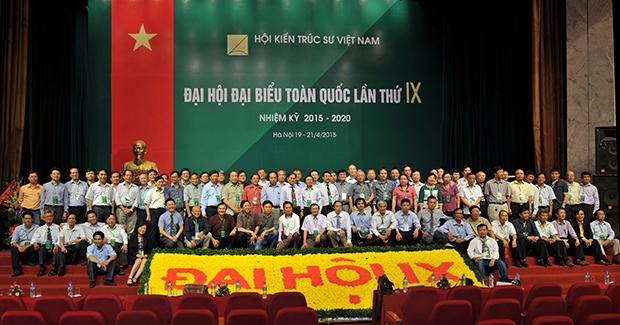 Ban chấp hành Hội KTS Việt Nam nhiệm kỳ 2015 - 2020