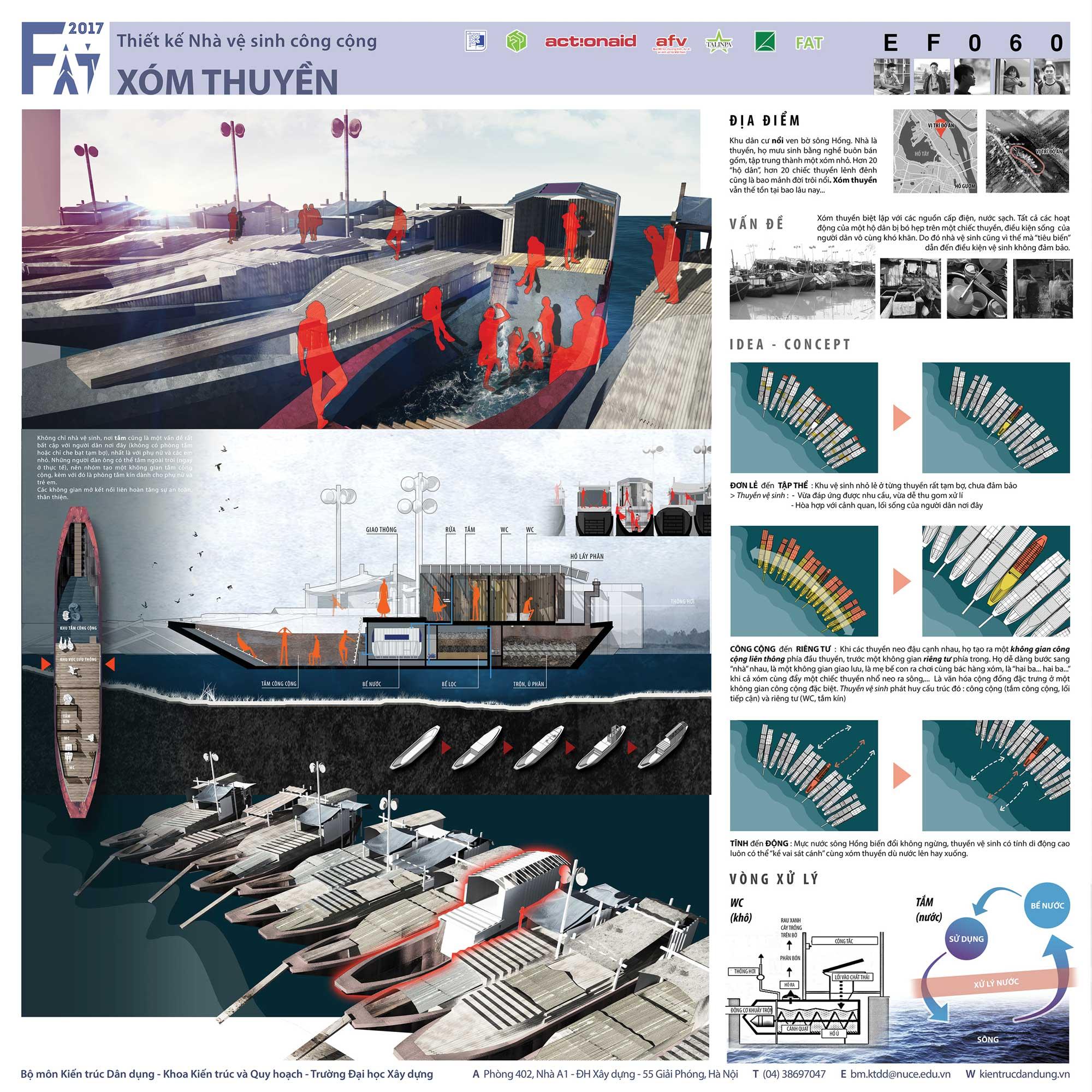 Giải Ba - Xóm thuyền (mã số EF060)