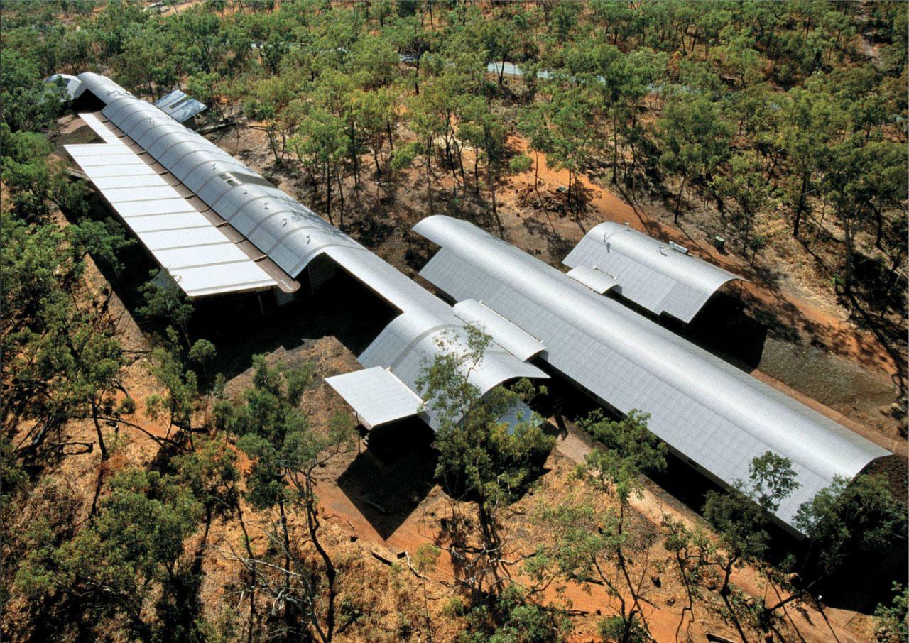 South Coast Visitors Centre tại Kakadu của KTS Glenn Murcutt