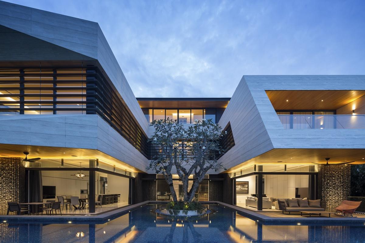 kien viet ngoi nha mo uoc Wallflower Architecture Design 24