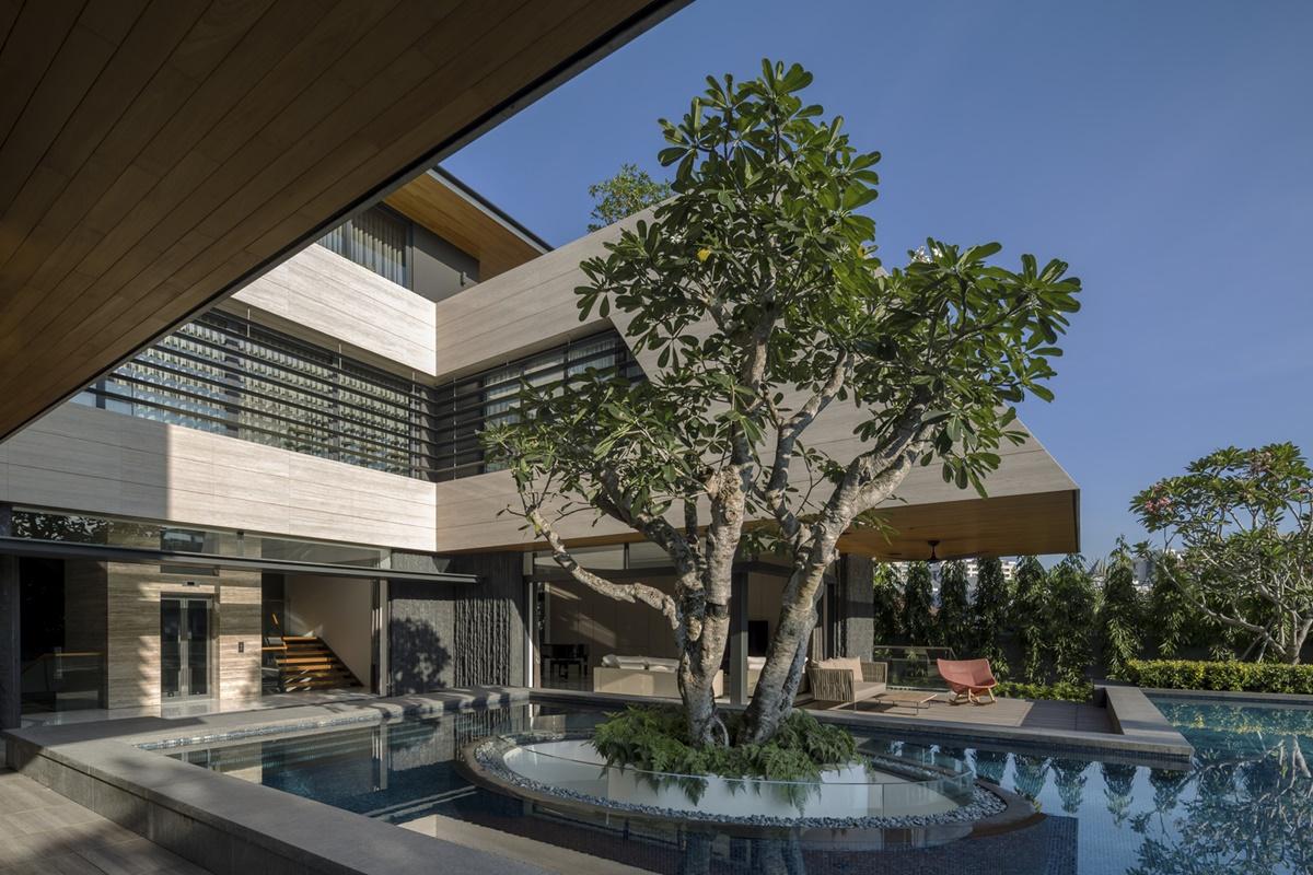 kien viet ngoi nha mo uoc Wallflower Architecture Design 25