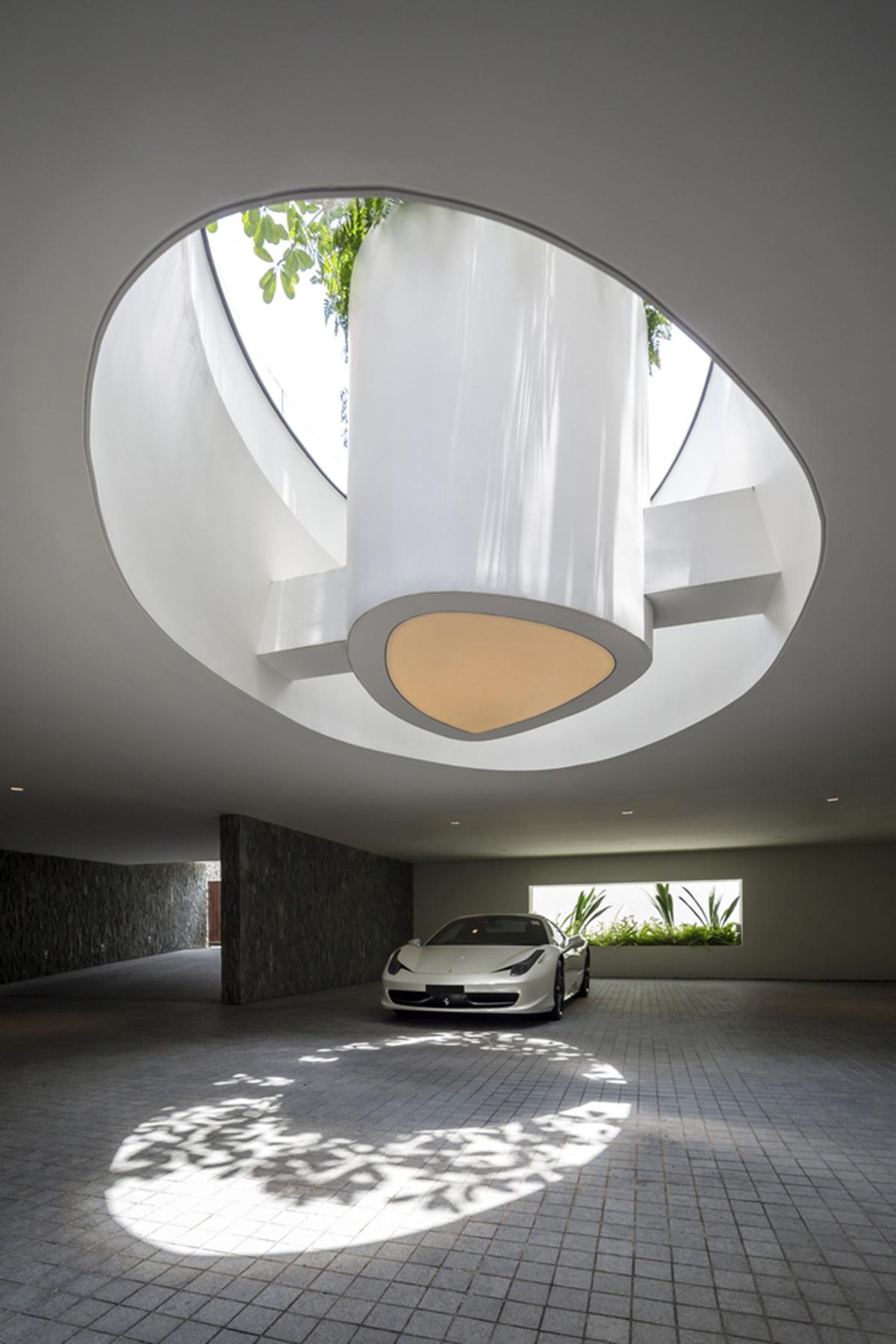 kien viet ngoi nha mo uoc Wallflower Architecture Design 33