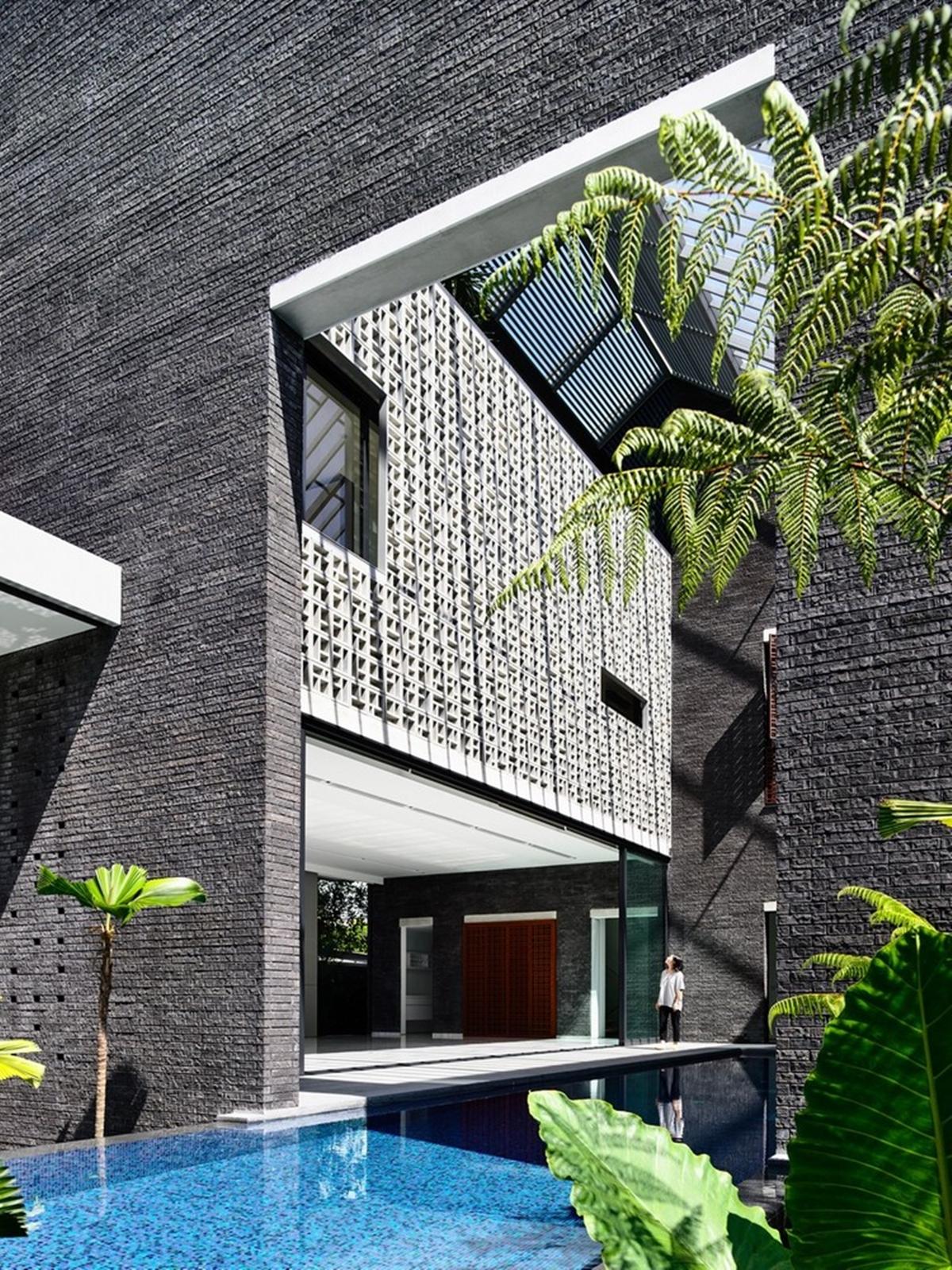 kien viet biet thu voi can phong khong mai hyla architects 1 - Biệt thự với căn phòng không mái | HYLA Architects