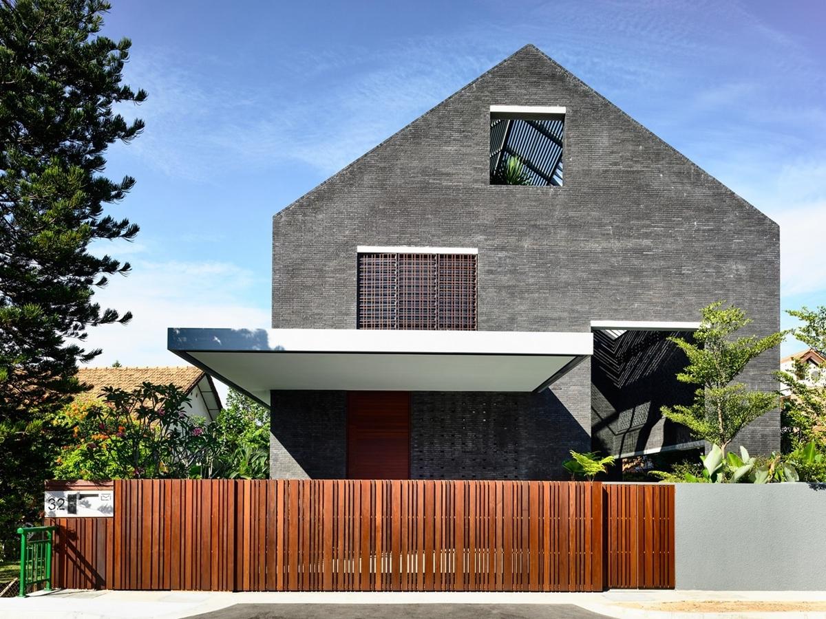 kien viet biet thu voi can phong khong mai hyla architects 8 - Biệt thự với căn phòng không mái | HYLA Architects