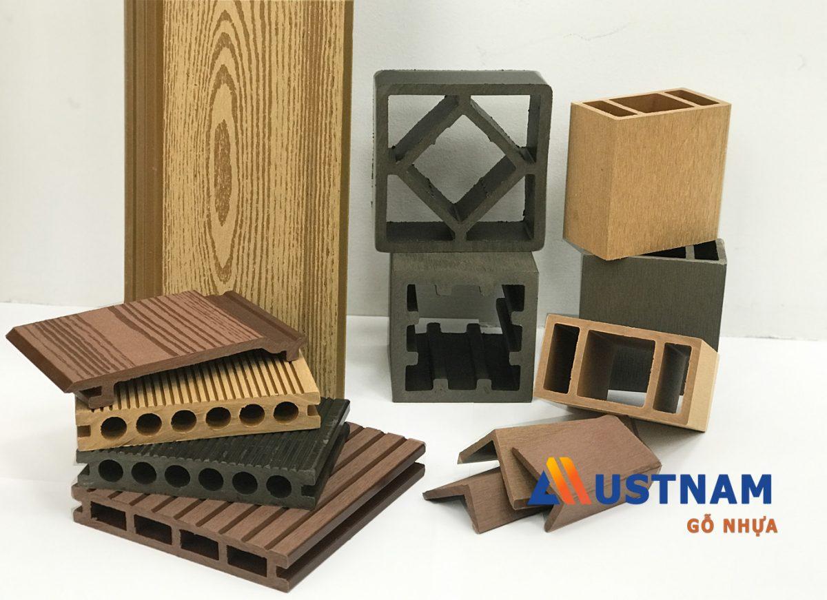 Các sản phẩm gỗ nhựa composite ngoài trời của Austnam