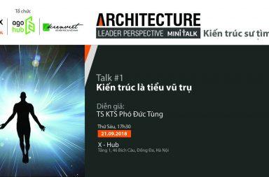 Poster chương trình ALP mini talk