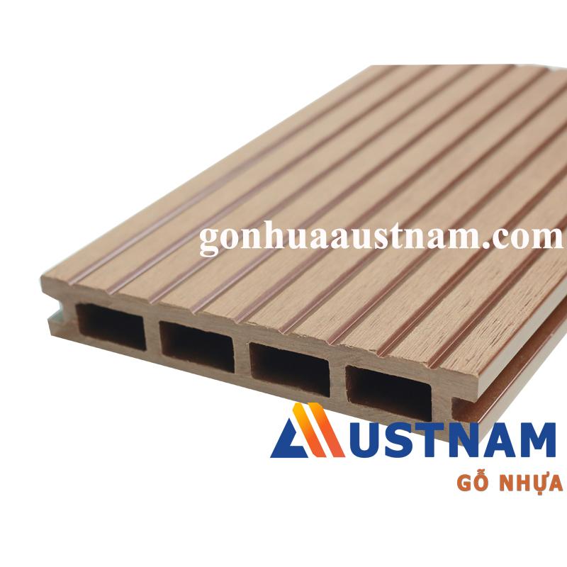 Ván sàn gỗ nhựa ngoài trời Austnam AUW-HD 150R