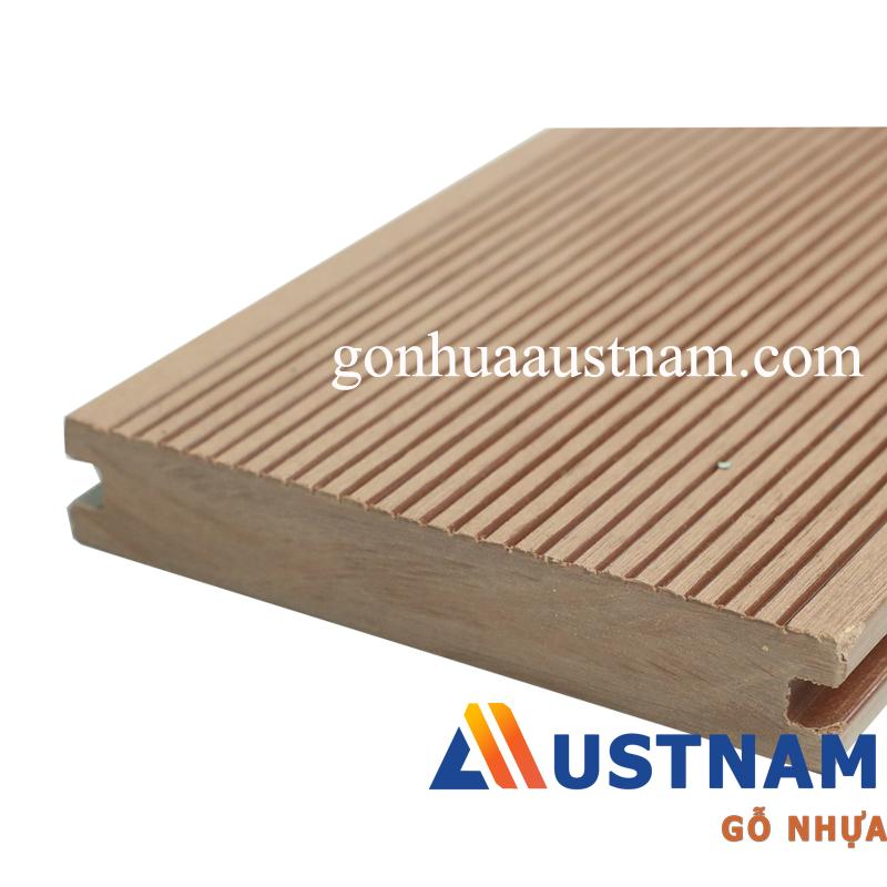 Ván sàn gỗ nhựa ngoài trời Austnam AUW-SD 140