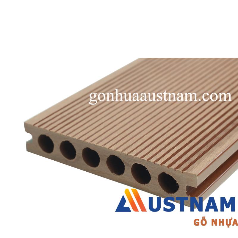 Sàn gỗ nhựa ngoài trời Austnam AUW-HD 140C