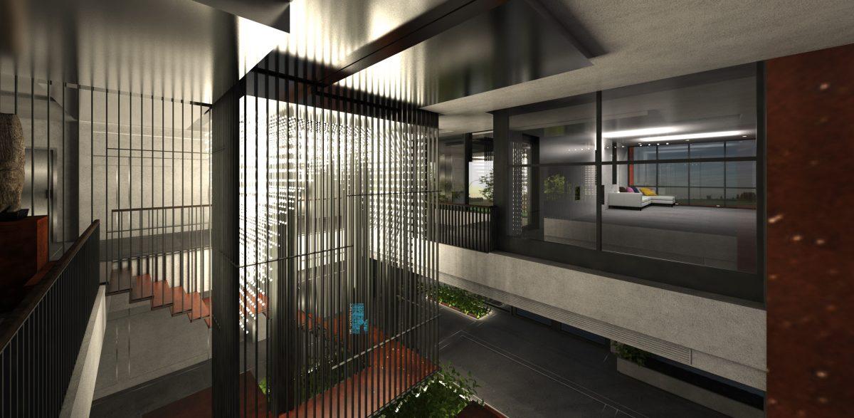 Không gian triển lãm văn hóa bản địa Đà Nẵng trong Sảnh khách sạn