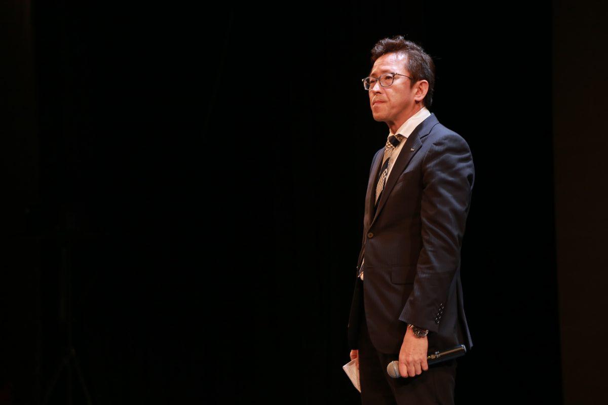 ông Masahiko Hiramoto – Tổng Giám đốc Công ty LIXIL Việt Nam chia sẻ tại sự kiện