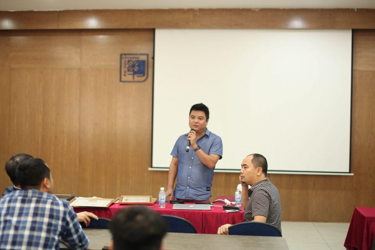 Thầy Nguyễn Việt Huy chia sẻ về cuộc thi và những điều cần lưu ý cho AIAC 2019
