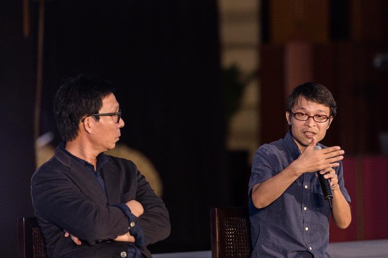 """KTS Niwa Takashi chia sẻ: """"Sự kết hợp tối ưu giữa """"Môi trường và văn hóa"""" sẽ làm đậm đà hơn bản sắc của mỗi công trình và phát huy yếu tố mỹ thuật hiệu quả""""."""