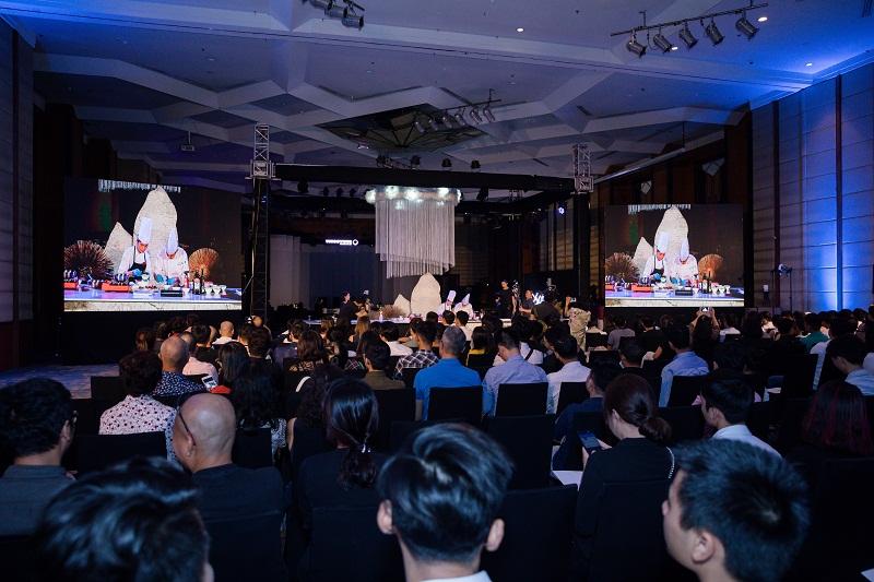 """Toàn cảnh không gian ấn tượng của sự kiện. """"Sự kỳ diệu của thiên nhiên"""" sẽ tiếp tục được tổ chức vào ngày 13/10, tại GEM Center, số 8 Nguyễn Bỉnh Khiêm, Đa Kao. Quận 1, TPHCM."""