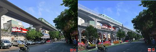 Tuyến đường sắt đô thị số 1 đã phải tạm dừng năm 2014 vì bế tắc với phương án vượt sông Hồng. City solution đề xuất tích hợp đường sắt đô thị và đường sắt quốc gia trên tuyến cầu đá cũ phố Phùng Hưng