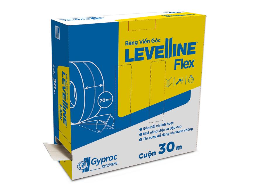 Băng Viền Góc Levelline Flex - Giải pháp bảo vệ góc tường trần