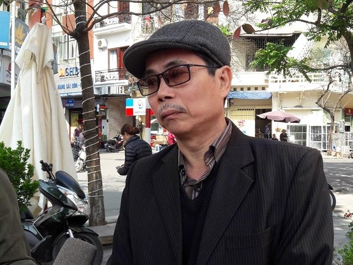 KTS Trần Huy Ánh -Ủy viên Thường vụ Hội KTS Hà Nội.