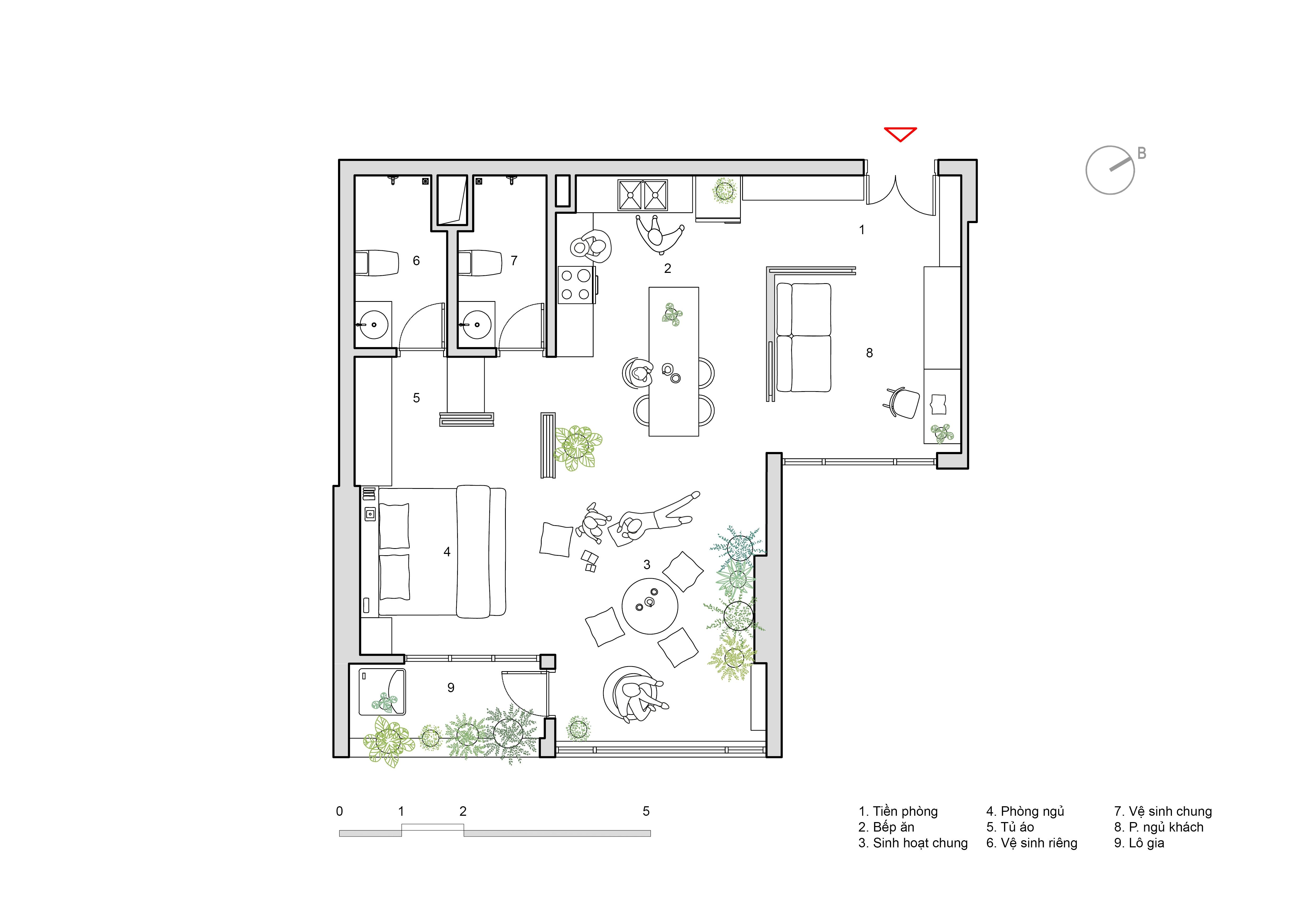 MDP,  Cải tạo không gian nội thất căn hộ Mỹ Đình Plaza,  HGAA