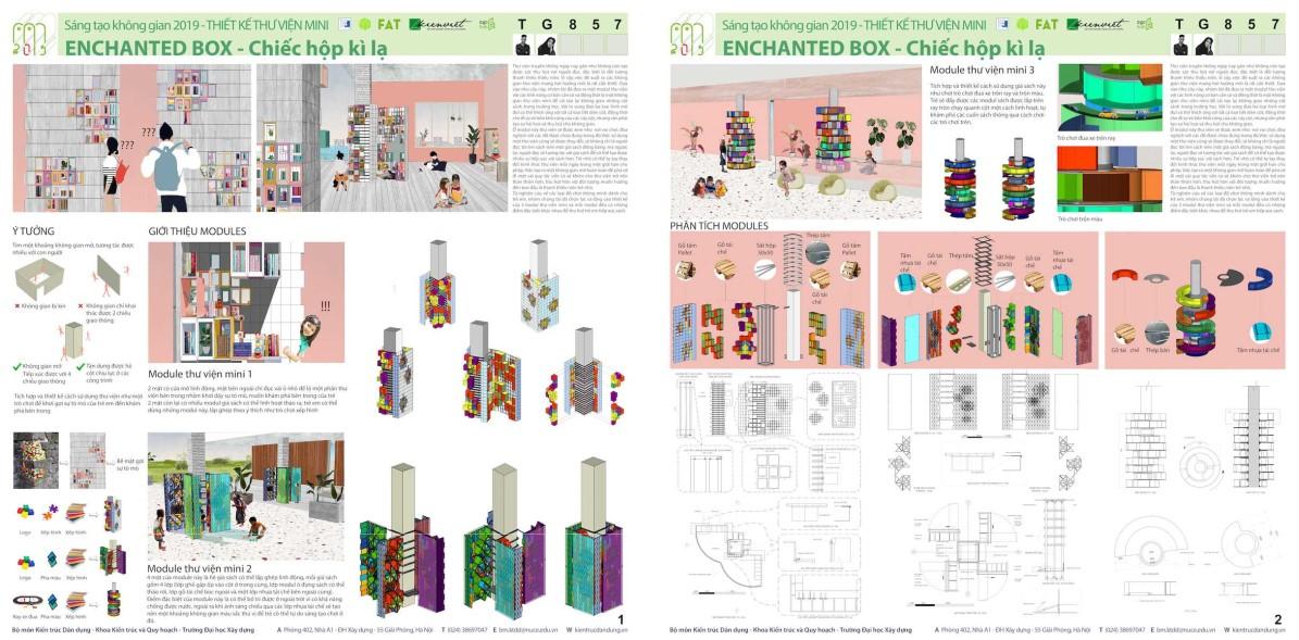 """TCBC: Kết quả Cuộc thi """"Thiết kế Thư viện Mini 2019: Linh hoạt - Thân thiện - Di động"""""""