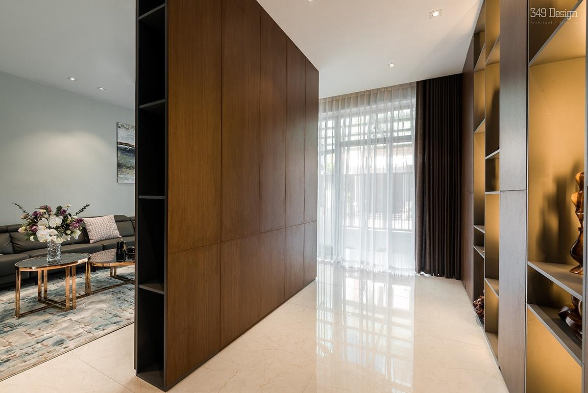 LA House - Nhà ống 2 tầng rưỡi | 349Design