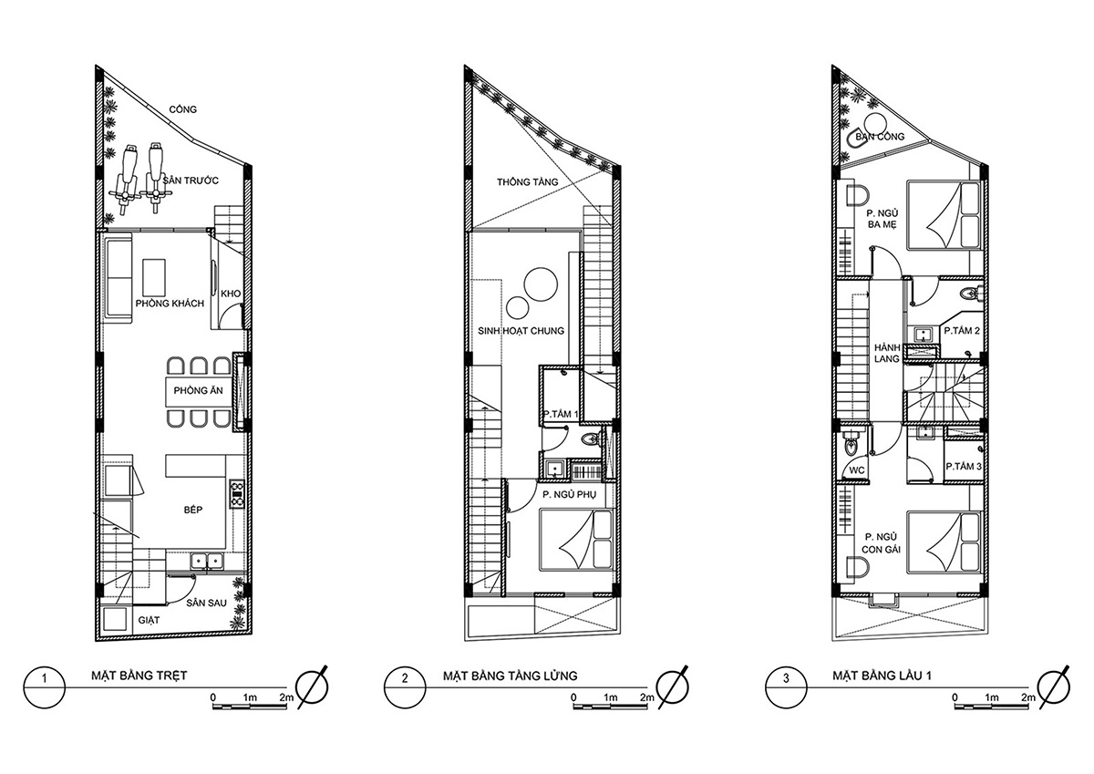 "Dual House - Nhà ""Hai trong Một""   ROOM+ Design & Build"