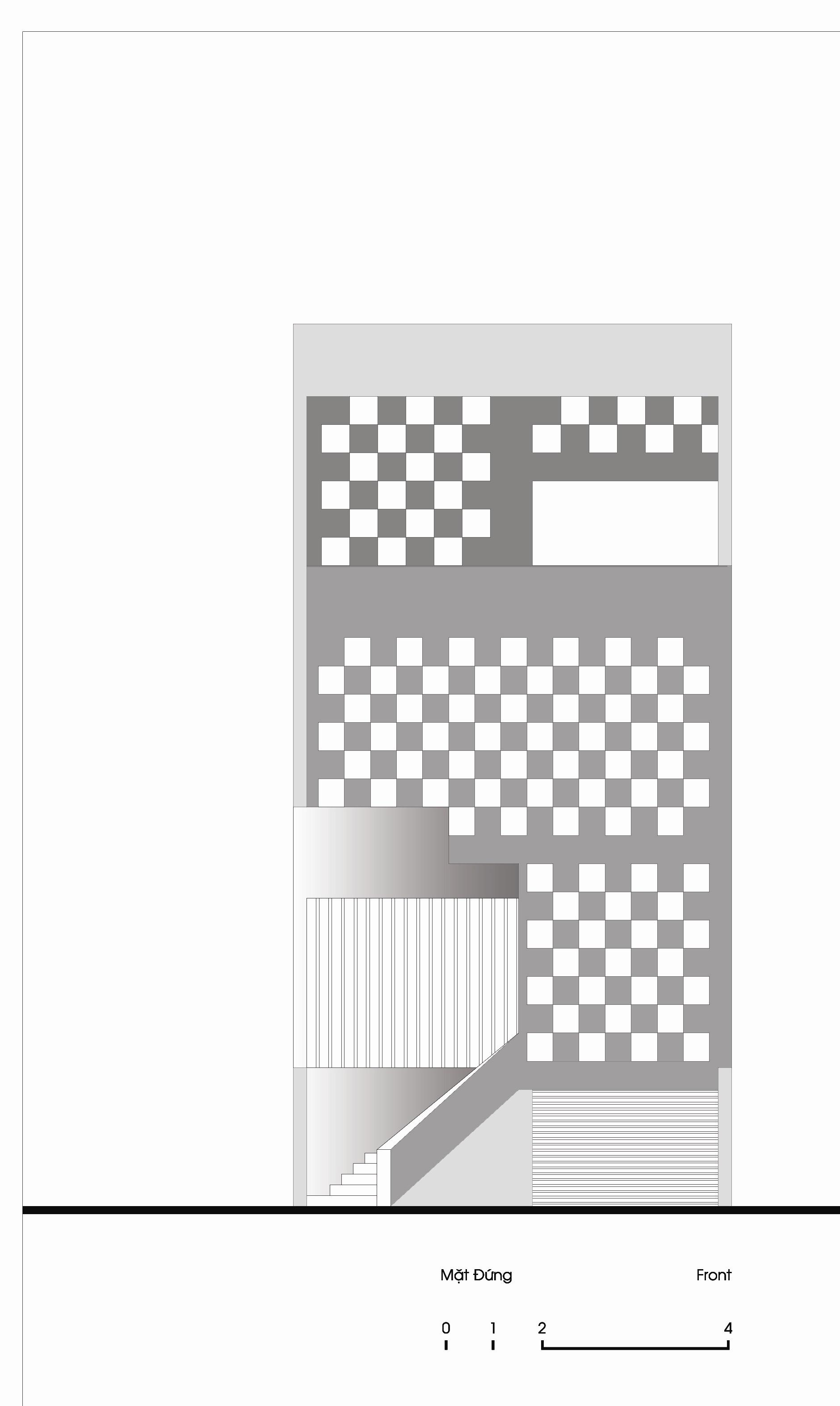 Caro House - Giải pháp thiết kế cho nhà chính Tây   KTS Nguyễn Hiếu