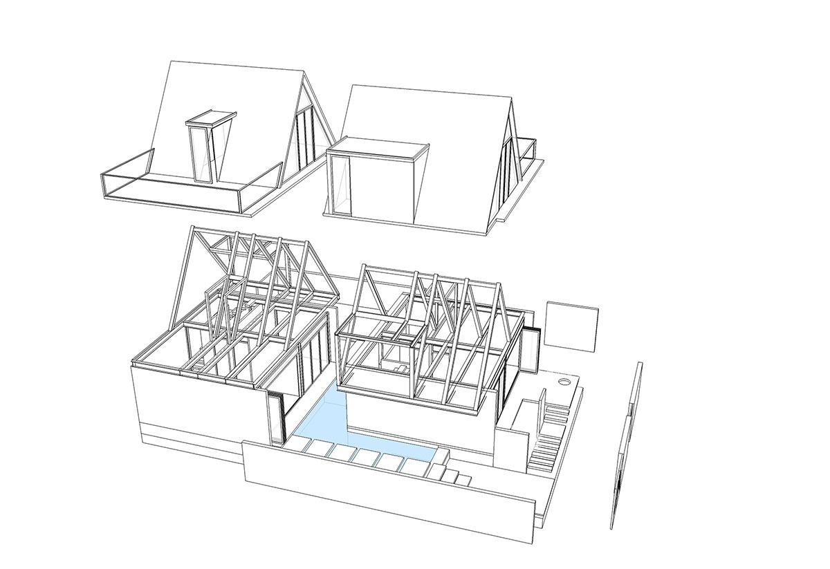 Maison Mansardée - Villa với kết cấu thép dưới chân núi Sơn Trà | 85 Design