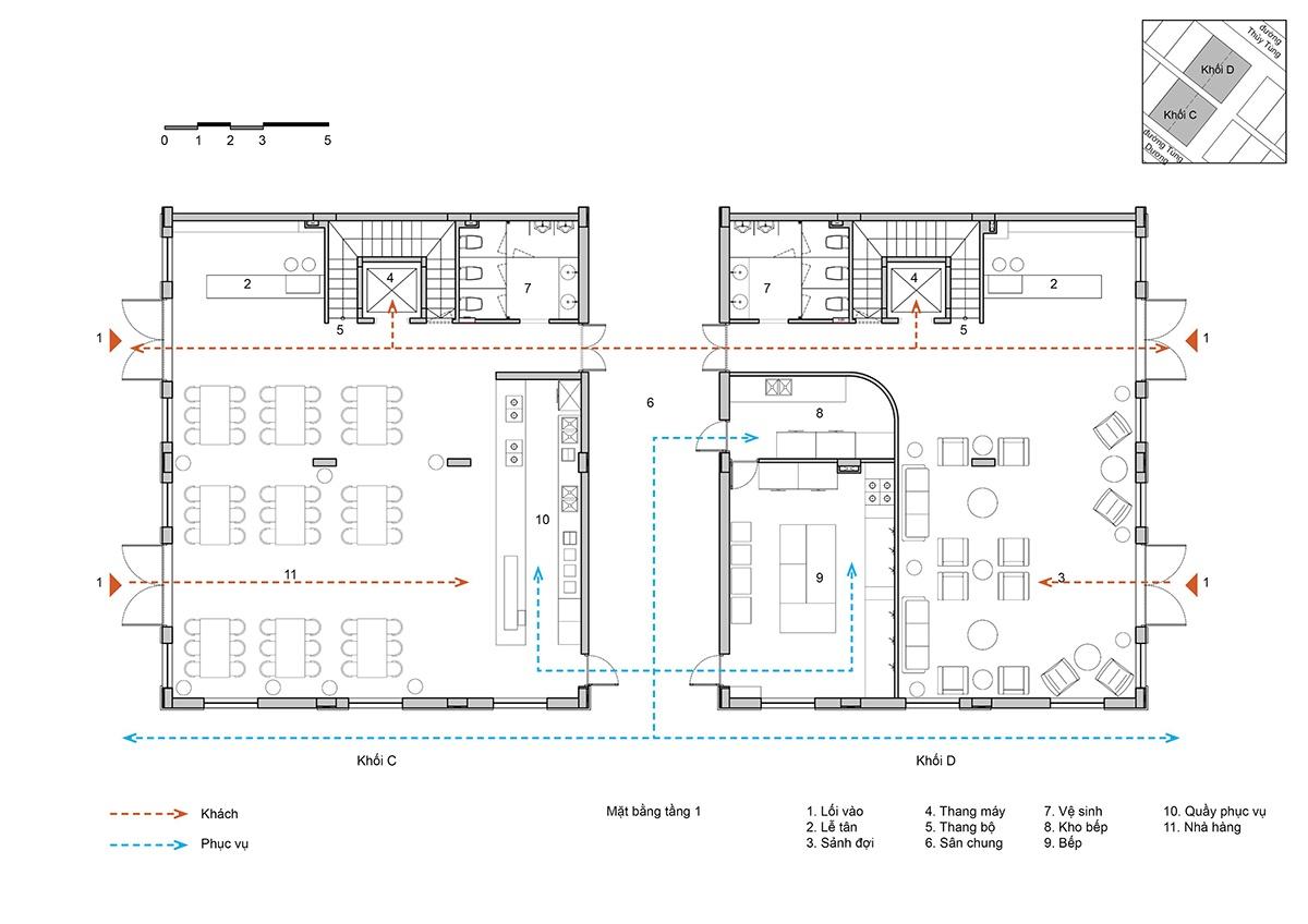 The Twin hotel – mô hình khách sạn được thiết kế từ dự án Shophouse | HGAA